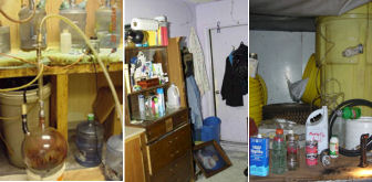 Meth Lab Images